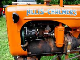 1942 allis chalmers model b 12v alternator conversion Allis Chalmers B Wiring and here's a close up view allis chalmers b wiring
