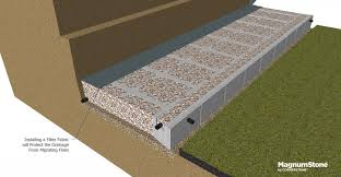 gravity wall construction installation