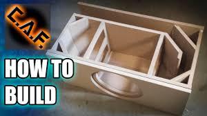 Sound Box Design Pdf How To Build A Subwoofer Box
