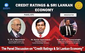 "The Panel Discussion on ""Credit Ratings & Sri Lankan Economy"" - USJ -  University of Sri Jayewardenepura, Sri Lanka"