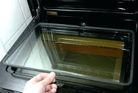 mesmerizing how to clean oven door glass cleaning oven door glass door ideas how to clean