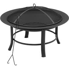 com mainstays 28 inches patio outdoor backyard and fire pit with hardware bag garden outdoor