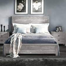 Grey Bed Frame King Full Size Of Bedroom Size Wooden Bed Frames With ...