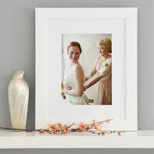 a4 white frame with mount portrait