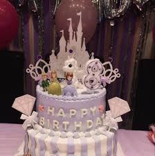 Glitter Disney Princess Castle Birthday Cake Topper Inparadiseonline