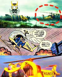 Thanoscopter Meme - Daily Status