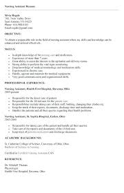 Example Cna Resume Magnificent Objective For A Cna Resume Resume Tutorial