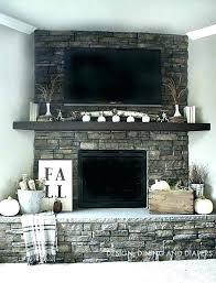 brick fireplace decor ideas chimney decoration best on with regard