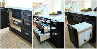 Kitchen Island With Storage Kitchen Island With Drawers Image Of Kitchen Island Cabinets