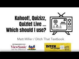 Game Show Classroom Comparing Kahoot Quizizz Quizlet