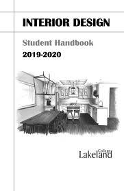 Interior Design Student Handbook 2019 20 Interior Design Student Handbook By Lakeland College