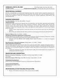 New Nurse Resume Template Beauteous Sample Nurse Resume Nursing Resume Template 48 Ambfaizelismail
