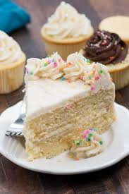Basic Yellow Cake Recipe Cakes And Cupcakes Crazy For Crust