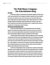 the walt disney company the entertainment king university page 1 zoom in