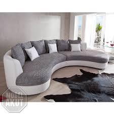 Sofa In Grau Unique Collection Wohnlandschaft Limoncello