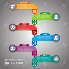 Реферат программное обеспечение инфографика развития шаблон макета  Реферат программное обеспечение инфографика развития шаблон макета иллюстрация Фото со стока 31209829