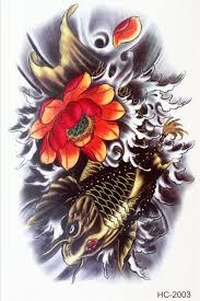 3358 руб красивый боди арт макияж красивый цветок японский карп