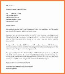 workers pensation settlement writing a demand letter for personal injury