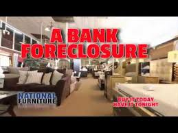 Exclusive Bank Foreclosure sale at National Furniture Liquidators