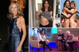 Naked workouts breast flashing fake boobs a lawsuit with dead.