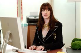 an in the office in the the devil wears prada