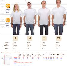 Custom Ink Size Chart Size Chart The Louise Log