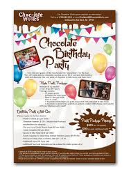 entry 10 by quay3010 for chocolate birthday party freelancer