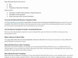 Resume Template Open Office Kiolla Com