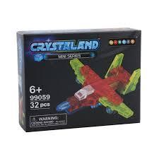 """<b>Конструктор Crystaland</b> """"<b>Мини</b> Самолет"""" 32 детали — купить в ..."""