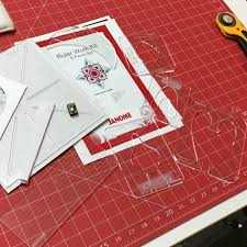 Acufil Quilting Designs Janome Ruler Work Kit Janome Sewing Machines Best