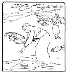 Small Picture Free ruth in the bible coloring pages Her name is Ruth