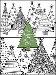 Oh Christmas Tree Coloring Page U Create