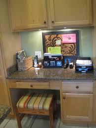 Desk In Kitchen Captivating Kitchen Cabinet Desk Ideas Images Inspiration Amys
