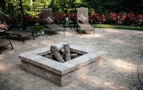stone fire pit square square fire pit kit fire pit stones home depot great nice amazing