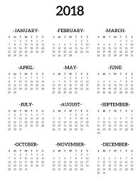one page calender calendar 2018 printable one page journal calendar printable