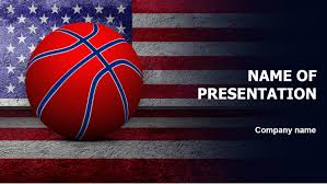 Basketball Powerpoint Template America Basketball Ball PowerPoint Template For Impressive 12