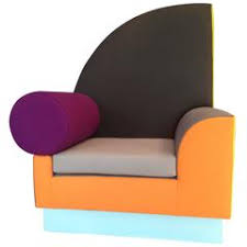post modernist furniture. Bel Air Armchair By Peter Shire Post Modernist Furniture