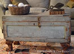 how to build rustic furniture. Trunk Table How To Build Rustic Furniture