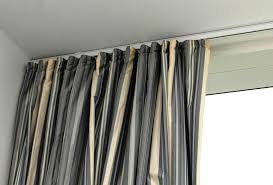 bay window curtain rods ceiling mount