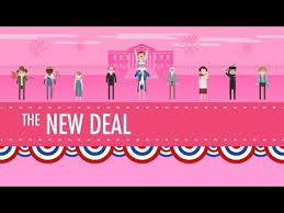 New Deal Programs Chart Answers The New Deal Crash Course Us History 34 Youtube