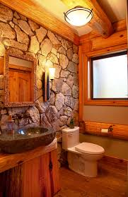Log Cabin Bathroom Decor Bathroom Ides