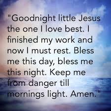 Good Night Prayer Quotes Custom Good Nite Prayer