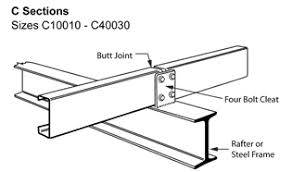 Metroll Newcastle C Section Purlins Girts