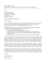 33 Printable Sample Application Letter For Pharmacist Pelaburemasperak