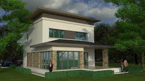 Design Exterior Case Moderne : Metallic structure houses with a modern look efficient design