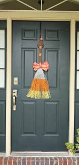 cinnamon broom decorating ideas candy corn cinnamon broom saving the family money