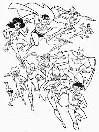 Small Picture Superhero Coloring Pages To Print Archives coloring page