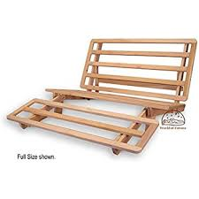 Trifold Hardwood Futon Frame  Twin Size