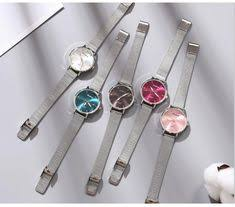 Top Brand Women Bracelet Square Watch <b>Contracted</b> Leather ...