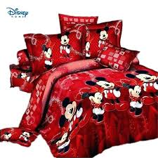 mickey mouse bedding twin red mickey mouse comforter set bedding twin full queen king size quilt